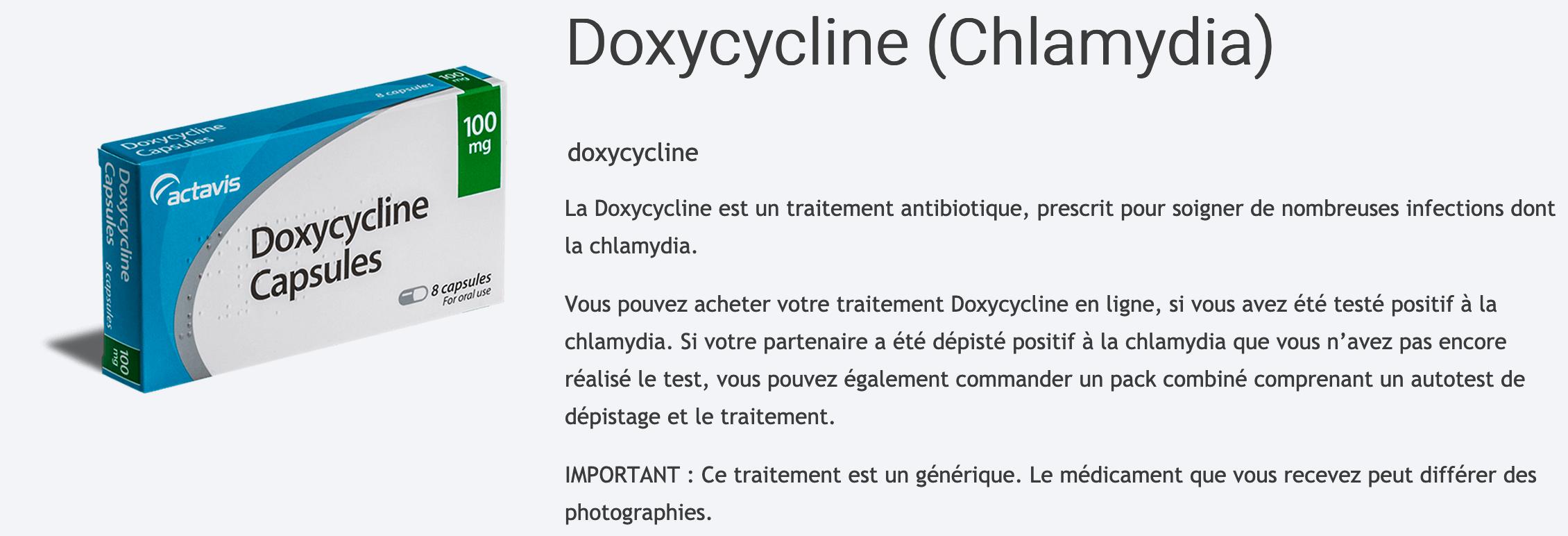 Doxycycline-Chlamydia