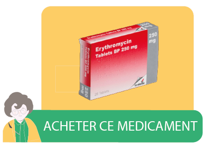 erythromycin bouton