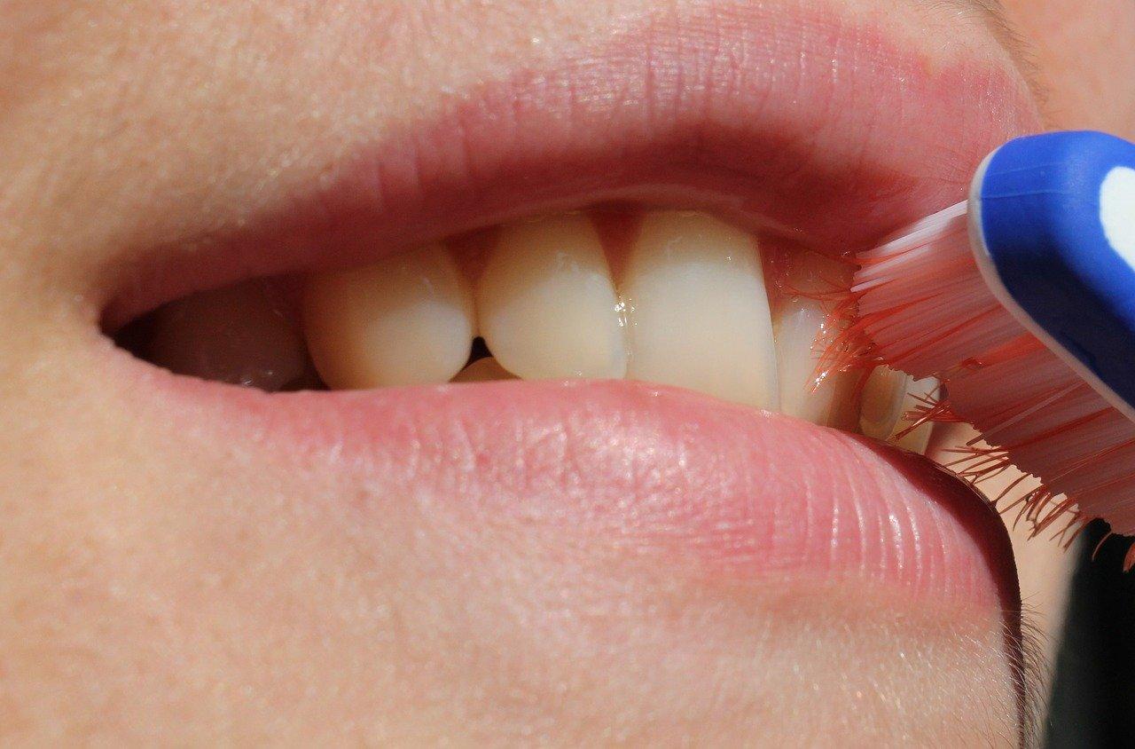 sourire brosse à dent